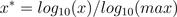 log-function